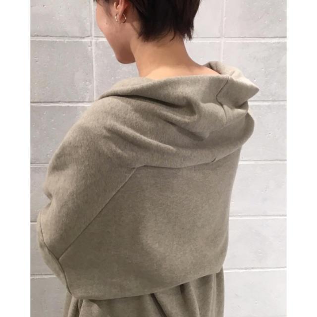 Plage(プラージュ)のPlage beauty 裏毛コート レディースのジャケット/アウター(ガウンコート)の商品写真