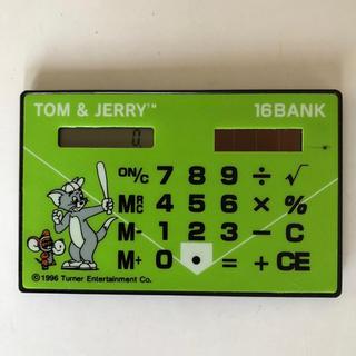 電卓 トムとジェリー TOM&JERRY 十六銀行 薄型