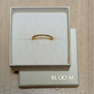 BLOOM - BLOOM  k18 イエローゴールドリング