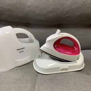 Panasonic - パナソニック コードレススチームアイロン 衣類スチーマー