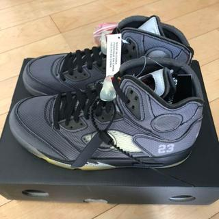 ナイキ(NIKE)のOFF-WHITE × AIR JORDAN 5 RETRO 26.5cm(スニーカー)