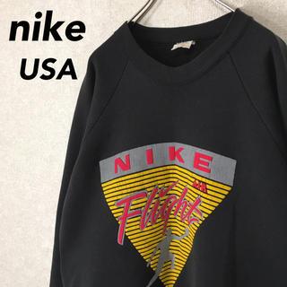 NIKE - 希少 90's ナイキ フルーツオブザルーム製 スウェット パーカー エアー