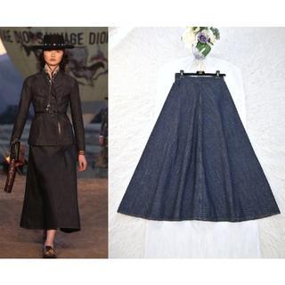 Christian Dior - ★Christian Dior★新品同様★2018ランウェイ★ロングスカート