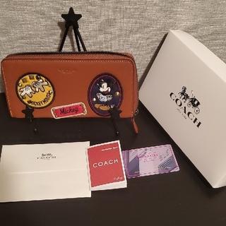 COACH - COACHミッキー財布【F59340】