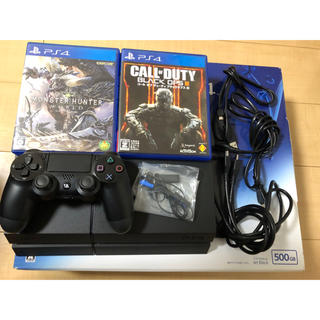 PlayStation4 - SONY PlayStation4 本体とソフト2本