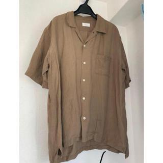 ジュンレッド(JUNRED)のjunred オープンカラーシャツ ブラウン(シャツ)