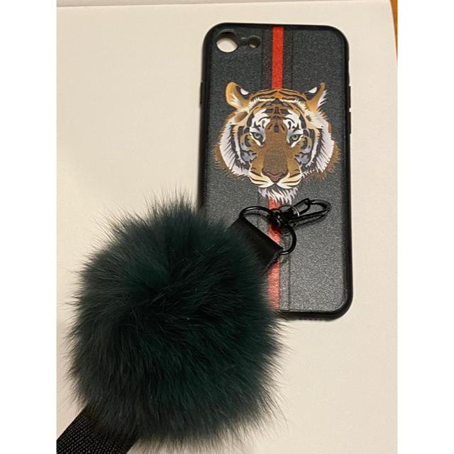 iPhoneカバー トラ柄の通販