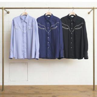 UNUSED - unused レーヨン ウエスタンシャツ シャツ sunsea uru