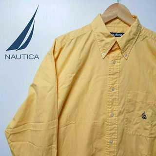 ノーティカ(NAUTICA)の550 NAUTICA 90年代製 ヴィンテージ BDシャツ シャツ イエロー(シャツ)