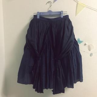 ケイスケカンダ(keisuke kanda)の最終値下☆keisuke kanda カーテンのスカート(ひざ丈スカート)