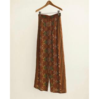 TODAYFUL - todayful African Print Pants