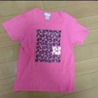ミルクフェド(MILKFED.)の新品未使用 MILK FEDピンクTシャツ(Tシャツ(半袖/袖なし))