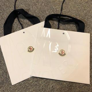 モンクレール(MONCLER)のモンクレール  紙袋 未使用 2枚(ショップ袋)