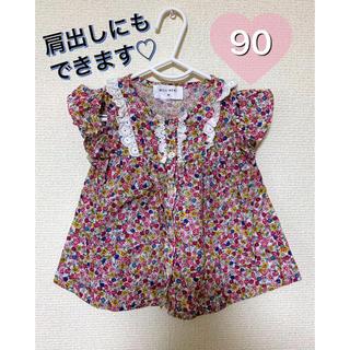 WILL MERY - トップス ウィルメリー Tシャツ 90 女の子 花柄