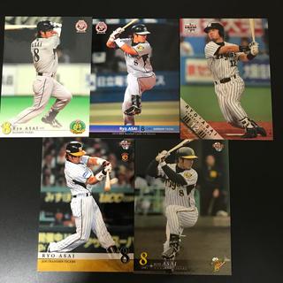 ハンシンタイガース(阪神タイガース)の5枚 浅井良 阪神 プロ野球カード(スポーツ選手)