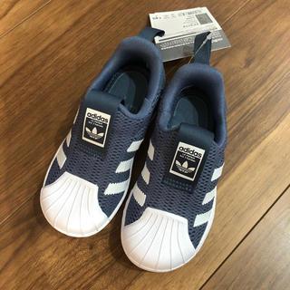 adidas - 新品 アディダス  スーパースター キッズ スリッポン スニーカー  14cm