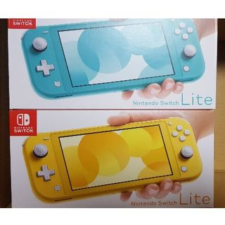 ニンテンドースイッチ(Nintendo Switch)のNintendo Switch Lite 2台セット送料込(携帯用ゲーム機本体)