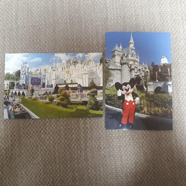 Disney(ディズニー)のディズニーランド ポストカード エンタメ/ホビーの声優グッズ(写真/ポストカード)の商品写真