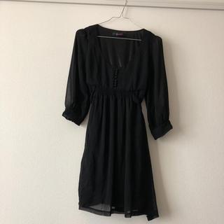 dazzlin - ダズリン 新品 七分袖 シフォンワンピ