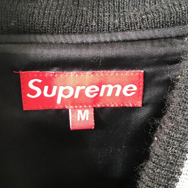 Supreme(シュプリーム)のsupreme ブルゾン スタジャン 3日間限定値下げ中! メンズのジャケット/アウター(ブルゾン)の商品写真