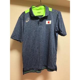 アシックス(asics)のアシックスJAPANポロシャツ(Tシャツ(半袖/袖なし))