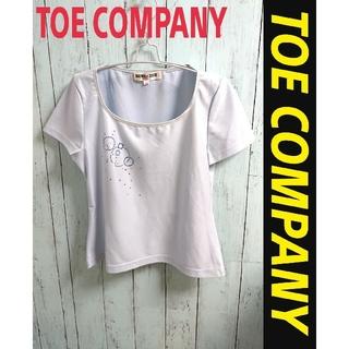 アートコレクション(Art Collection)のTOE CAMPANY Tシャツ 水色 アートデザイン かわいい ポリシャツ(Tシャツ(半袖/袖なし))