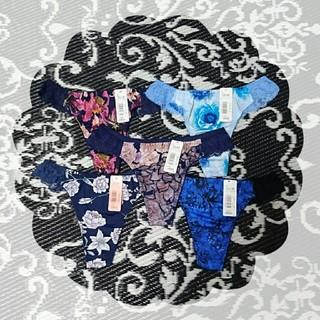 aimer feel - エメフィール Tバック ショーツ L 5枚セット BLUE系
