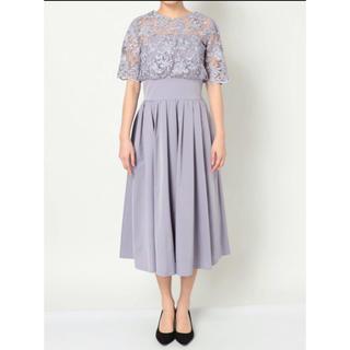 LagunaMoon - LADY オーバーレースギャザードレス
