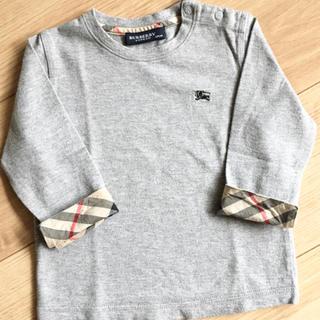 BURBERRY - バーバリー Tシャツ ロンT  9部 7部 長袖 80 男の子 女の子 男女兼用