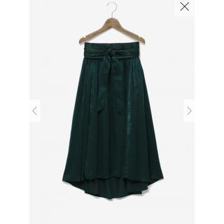 プラステ(PLST)の新品タグ付 PLST 2way フレアスカート(ひざ丈スカート)