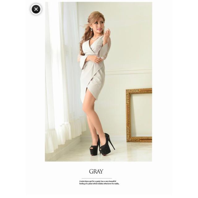 JEWELS(ジュエルズ)の最終値下げ!Ryuyu ♡ キャバドレス レディースのフォーマル/ドレス(ミニドレス)の商品写真