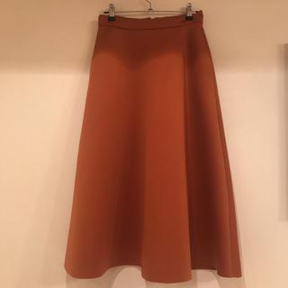 ラグナムーン(LagunaMoon)のラグナムーン オレンジスカート(ひざ丈スカート)