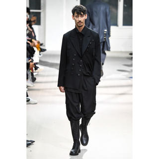 Yohji Yamamoto - 美品 yohji yamamoto pour homme 19aw黒釦ジャケット