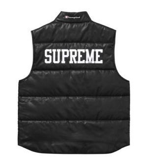 Supreme - Supreme Champion Puffy Vest Black L