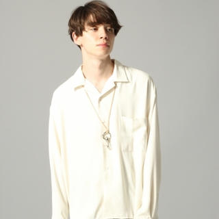 HARE - 【HARE】ハレ オープンカラーシャツ サイズS オフホワイト