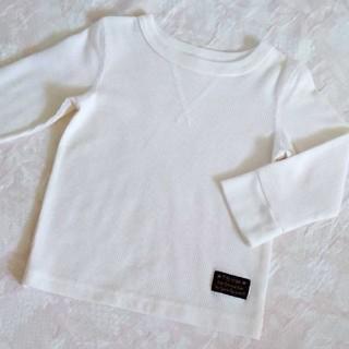 シンプルロンT クリーム 90(Tシャツ/カットソー)