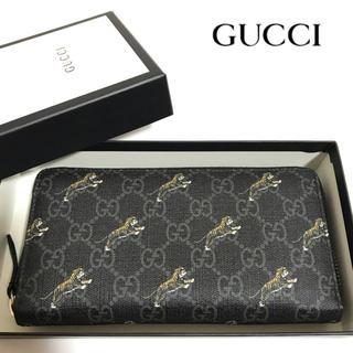 Gucci - 【正規品】美品✨GUCCI/長財布/Gg Tigers/575135/グッチ