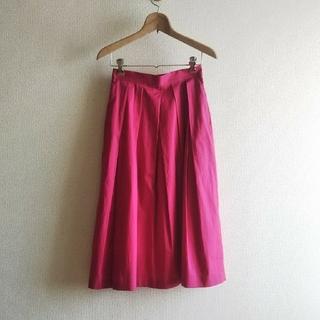 UNITED ARROWS - UNITED ARROWS ピンクスカート