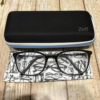 ゾフ(Zoff)のZoff メガネ SMART Skinny ZJ71012-B-1A ブラック(サングラス/メガネ)
