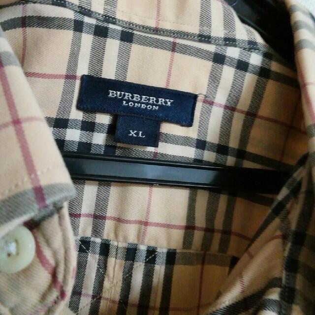 BURBERRY(バーバリー)のバーバリー ノバチェック シャツ メンズのトップス(シャツ)の商品写真