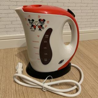 ディズニー(Disney)の未使用 ディズニー電気ケトル 0.6L (電気ケトル)