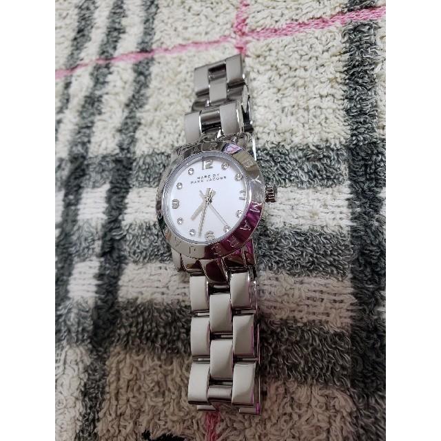 MARC JACOBS - 【新品電池交換済み】 MARC 腕時計 レディース マークジェイコブス シルバーの通販