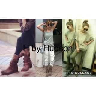 H by Hudson梨花ちゃん愛用♪エイチバイハドソンブーツKEIRA39(ブーツ)