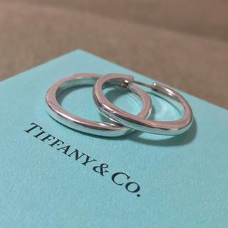 Tiffany & Co. - ティファニー クッション フープピアス スターリングシルバー 925