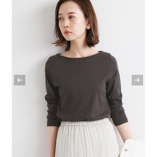 IENA - IENA 新品★【オーラリー】IENA 別注ボートネックTシャツ 38サイズ