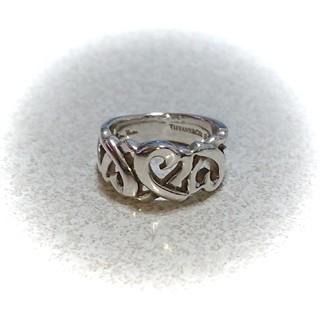 ティファニー(Tiffany & Co.)の週末セール!ティファニー トリプルラビングハートリング  7号(リング(指輪))