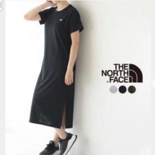 ザノースフェイス(THE NORTH FACE)のノースフェイス ワンピースクルー 黒(ロングワンピース/マキシワンピース)