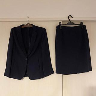 アンタイトル(UNTITLED)のアンタイトル UNTITLD スカートスーツ 濃紺 ネイビー 4  XL(スーツ)