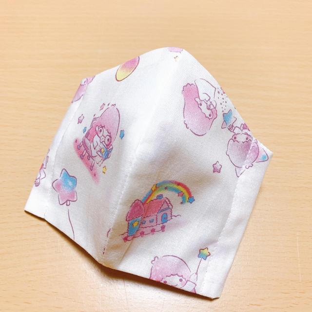 マスク アンパンマン - サンリオ - インナーマスク 子供用 立体 キキララ サンリオ ハンドメイドの通販