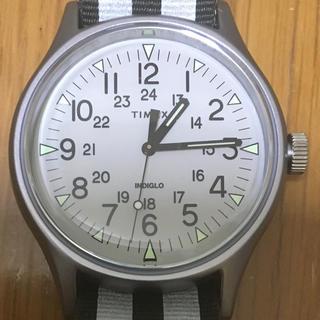 タイメックス(TIMEX)のtimex タイメックス mk1 アルミニウム リバーシブルストラップ 新品同様(腕時計(アナログ))